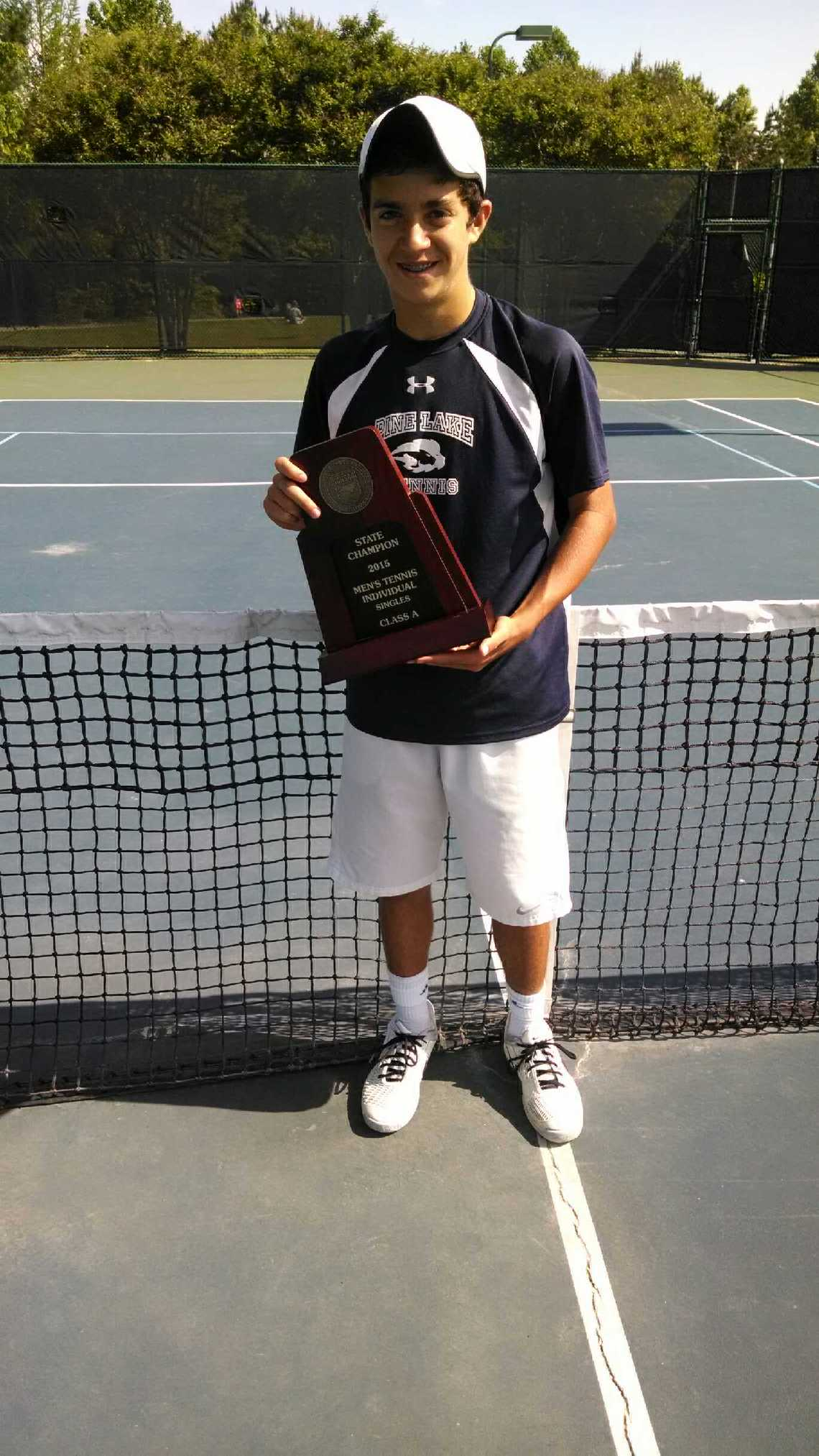 Pine Lake Preps Vicario Wins NCHSAA A Mens Singles Middle - Pine lake prep us map