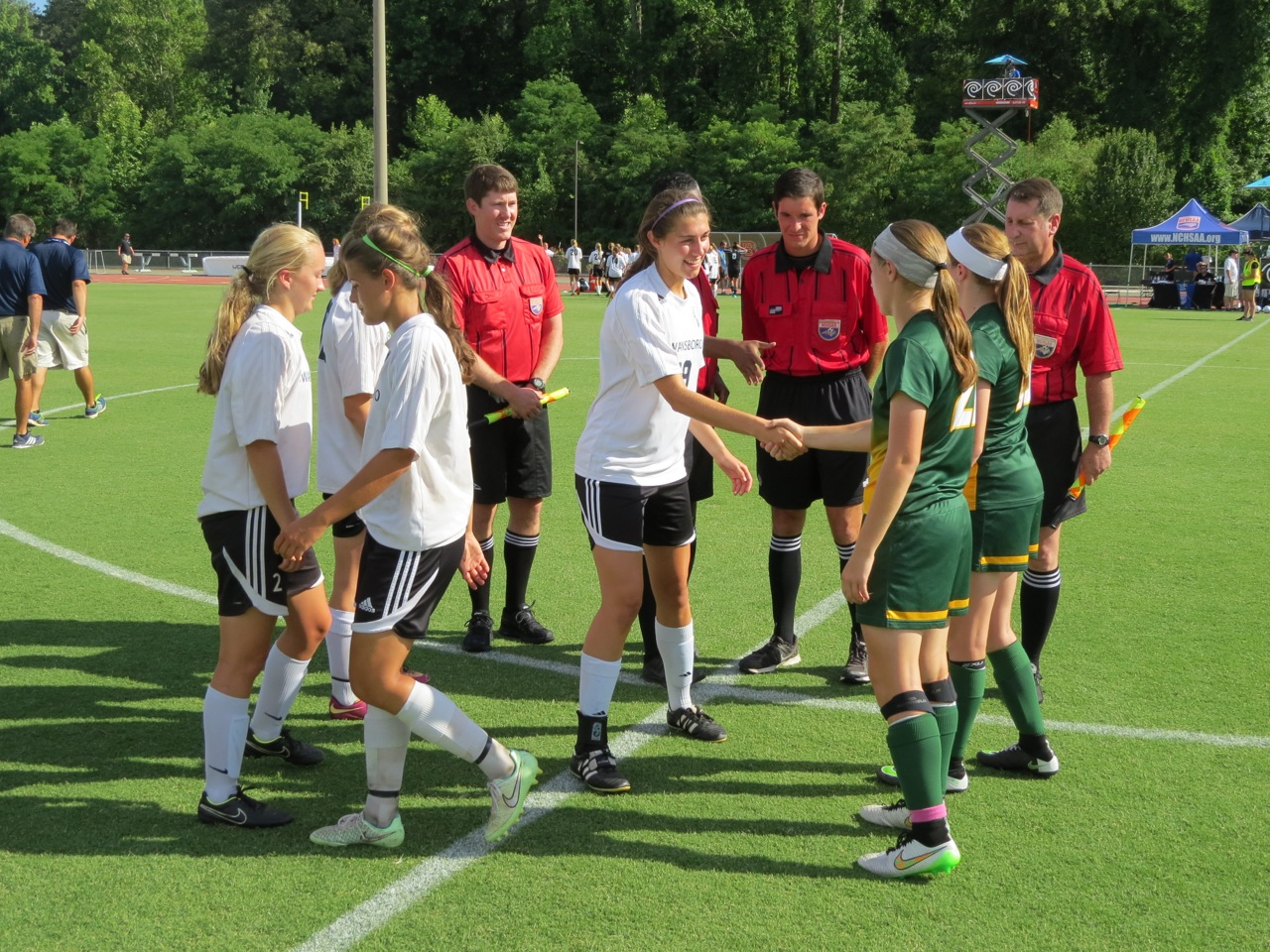 A C Reynolds Edges Swansboro In Nchsaa 3 A Women S Soccer Title
