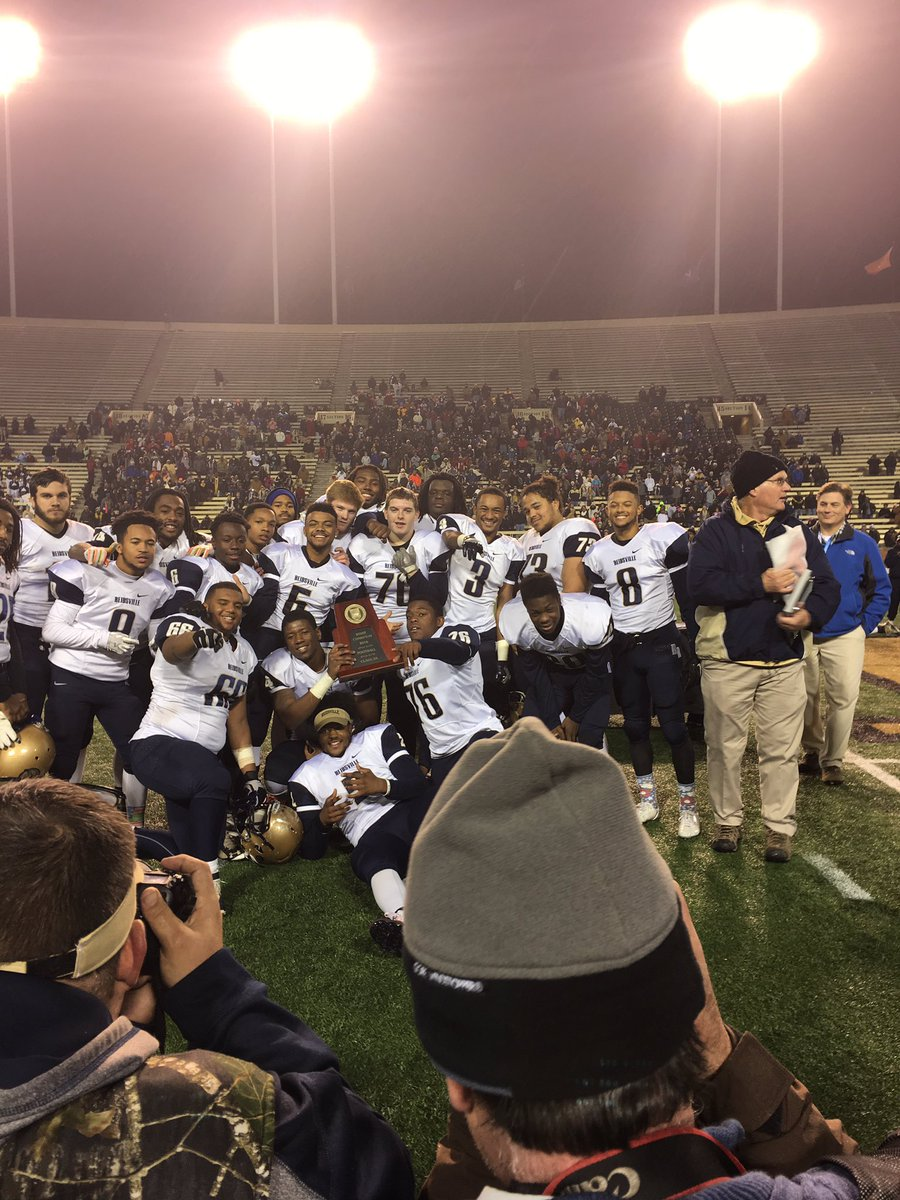 2A FOOTBALL CHAMPIONSHIP – Reidsville wins their 16th title