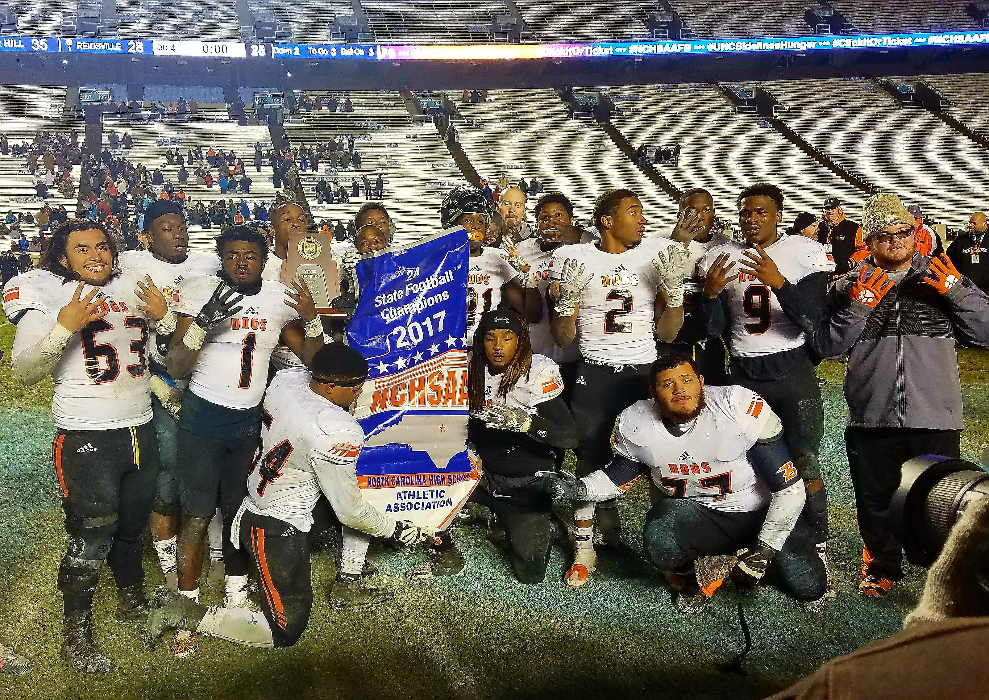 2017 Football Championship Recap North Carolina High School
