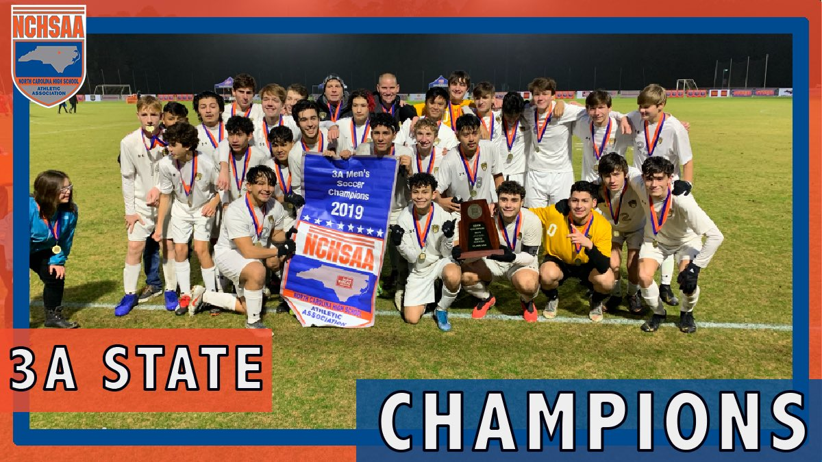 Williams 2019 3A MSOC State Champions
