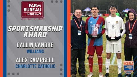 2019 3A MSOC Sportsmanship Awards