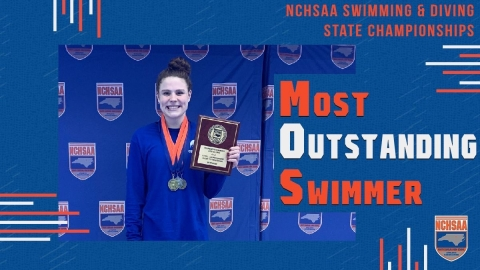 Emme Nelson (CSD) 2020 1A/2A Women's Swimming Most Outstanding