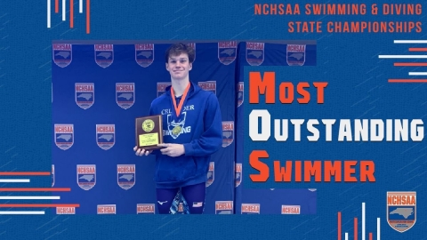 Timothy Connery (Christ the King) 2020 1A/2A Men's Swimming Most Outstanding